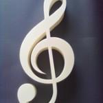 Logo 3d plexi 100cm