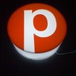 Logo 3D opal z naklejonym plexi (Niemcy)