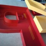 litery przestrzenne 3d 90cm