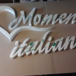 Litery 3D całe z plexi (Galeria Katowice)